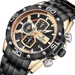 Мужские часы классические Naviforce NF8018, Гарантия 12 мес.