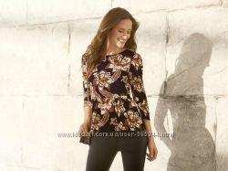 Женская шифоновая блуза Esmara с баской.