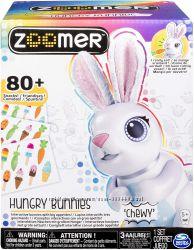 Интерактивный кролик . Zoomer Hungry Bunnies