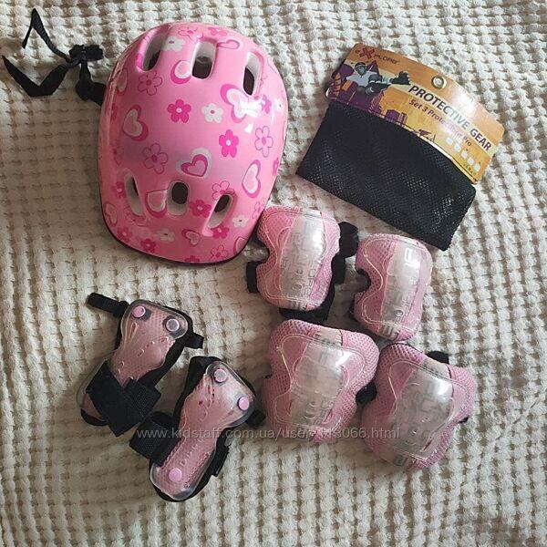 Комплект защиты размер S для роликов  и рюкзак