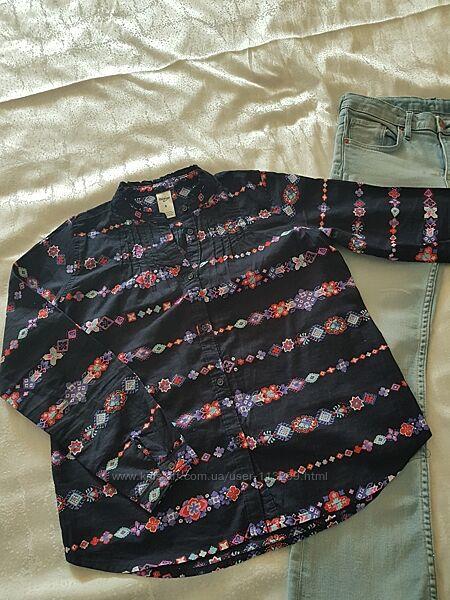 Блузка-рубашка для девочки 8лет