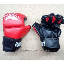 Перчатки для рукопашного боя ММА М1 Lev кожаные