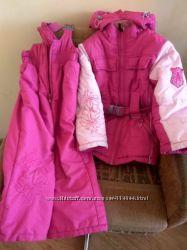 Комбинезон зимний на девочку р. 110 Libellule очень теплый и легкий