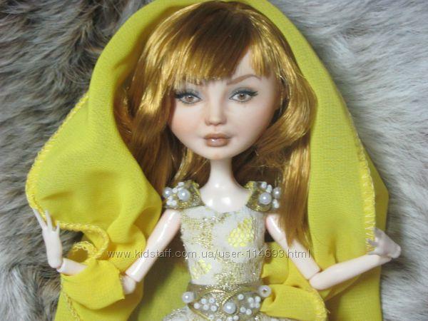 Коллекционная портретная кукла Ооак Анжелика и султан