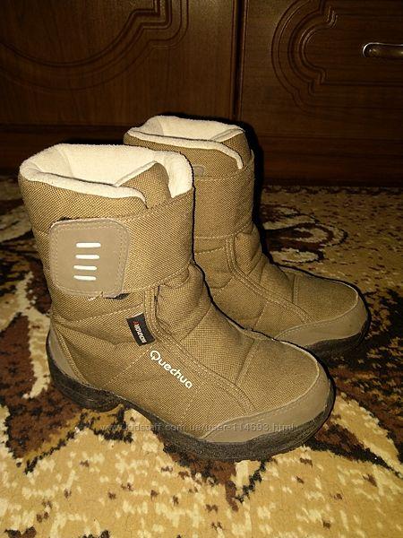 Классные термо ботинки Quechua для мальчика