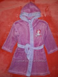 Халатики для девочки 3-5 лет Peppa Pig, Matalan