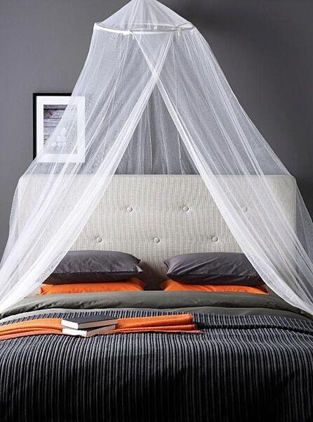 Балдахин или москитная сетка на кровать ikea bryne.