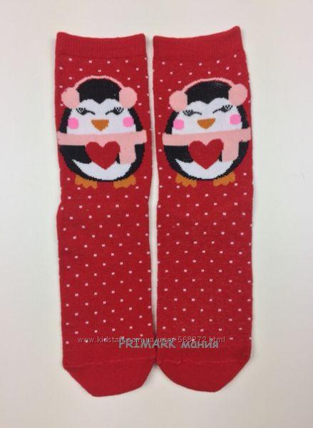 Новогодние носки  поштучно 37-40 евр Primark