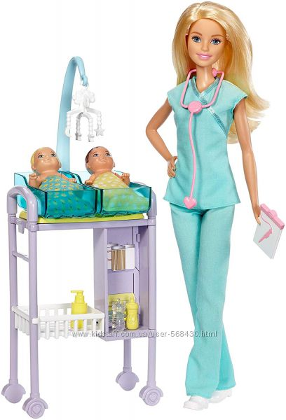 Большой выбор игровых наборов с куклой Барби. Оригинал.