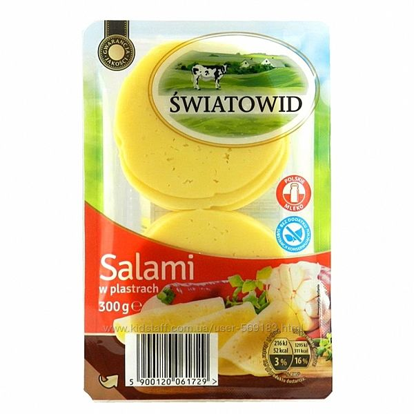 сыр Salami swiatowid