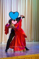 Платье для танцев р-р 44-46, рост 160-164