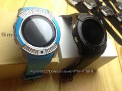 Smart Watch V8-умные часы с sim-картой Голубые, черные