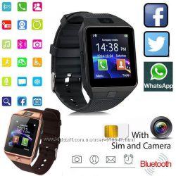 SmartWatch DZ09 Умные часы-телефон c sim картой