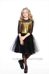 Платье с золотыми пайетками от Lukas-Kids