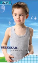 майки baykar подростковые р6. 7 однотонные