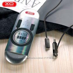Кабель 3 в 1 Rock XO NB11 Type-C, Lightning, Micro USB iphone