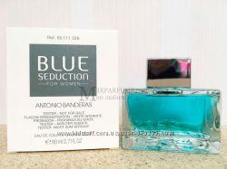 Оригинал Antonio Banderas Blue Seduction For Women edt 80 ml w TESTER