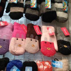Большой выбор перчаток и варежек для наших деток и не только