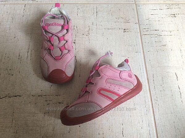Кожаные кроссовочки кеды туфли Antilopa