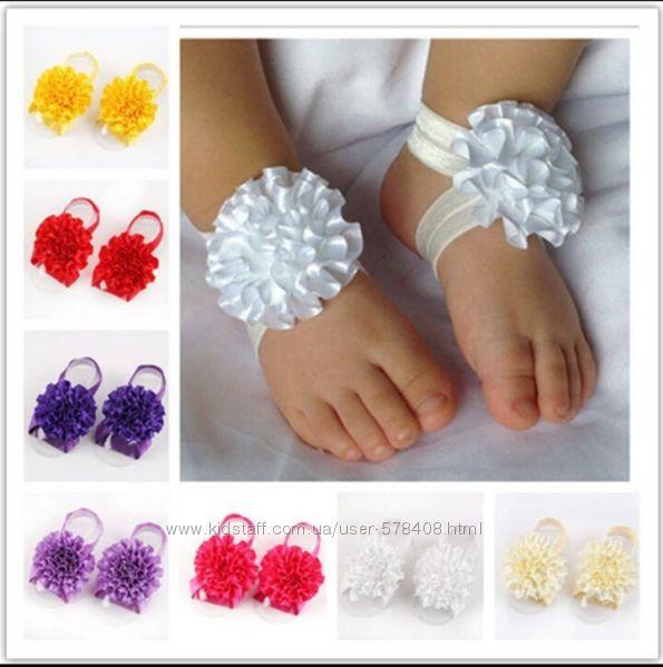 Резинки для ножки новорожденных