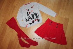 Наши фирменные одежки для девочки на рост 104-116см ч1