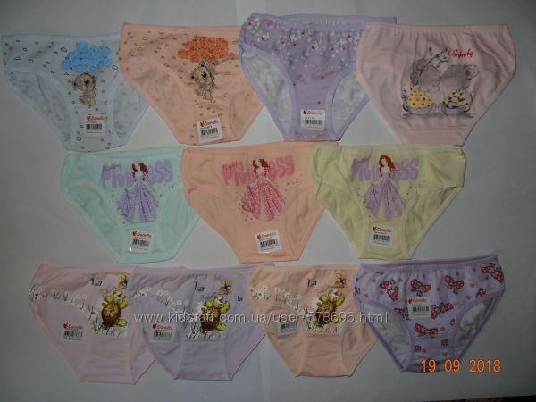 Трусики Донелла для девочки, размер 2-3 года 98-104