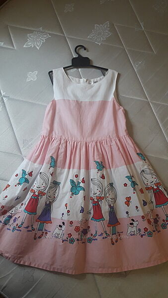 Платье Bonprix 128 см
