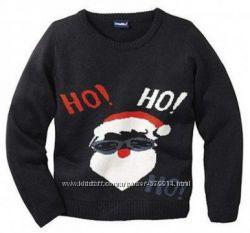 Классный  новогодний пуловер от немецкого бренда Lupilu