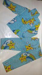 Пижама махровая на 5-7 лет