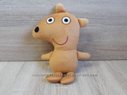 Мягкая игрушка Мишка Тедди свинки Пеппы, ручная работа