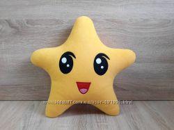 Мягкая игрушка - подушка Звездочка из Малышариков