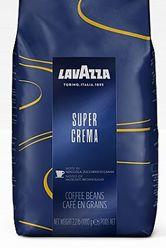 Lavazza Super Crema, премиум кофе в зернах 1 кг. Италия