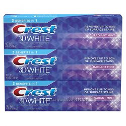 Отбеливающая зубная паста Crest 3D White