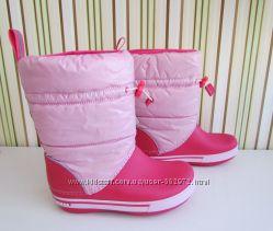 Зимние сапожки Crocs Сrocband Iri Gust Boots