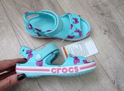Босоножки Crocs Bayaband Graphic Sandal