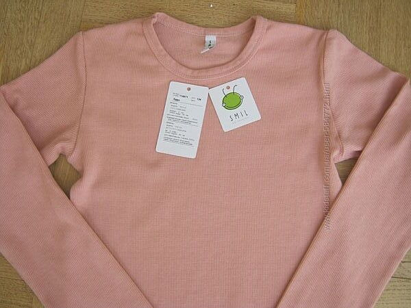 Как новая красивая футболка реглан Smil Смил р.134