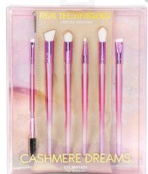 набор кистей Real Techniques Cashmere Dreams Eye Fantasy Kit