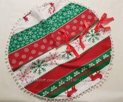 Юбка под елку, подставка, подстилка, скатерть, подкладка под елку новогодня