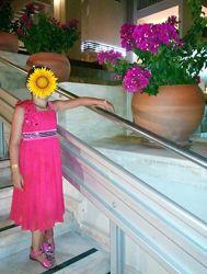 Нарядный сарафан  для девочки, р.5-8 лет