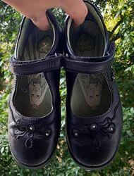 Черные туфли для девочки Start rite, 20,5