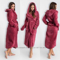 Длинный , мягкий, пушистый, теплый  халат Новинки