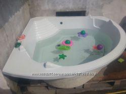 Акриловая ванна угловая