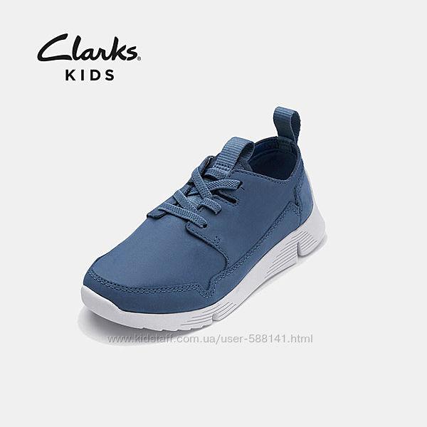 Clarks  Tri Utah K кожаные кроссовки