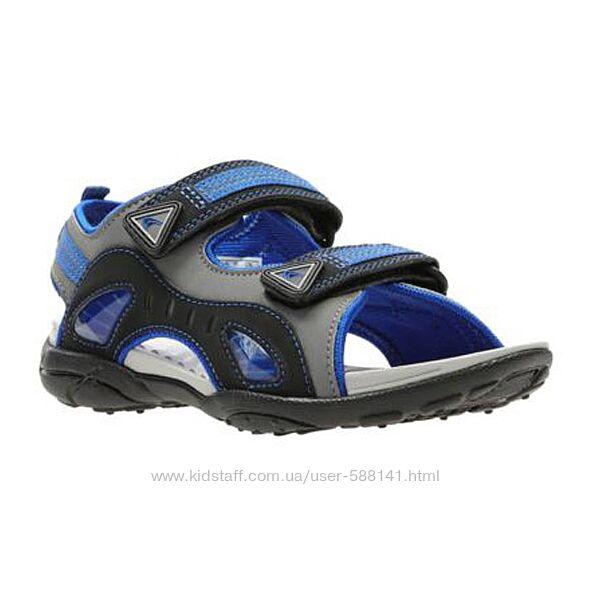 Clarks Solar Force 3 Jnr Blue детские сандалии
