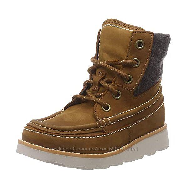 Clarks Crown Spirit кожаные ботинки