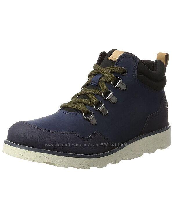 Clarks Dexy Hi Gore - Tex кожаные ботинки
