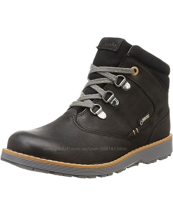 Clarks Day Hi Gore Tex Jnr Black зимние ботинки