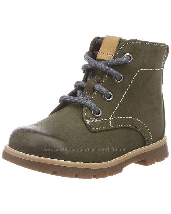 Clarks Comet Rock Olive кожаные ботинки