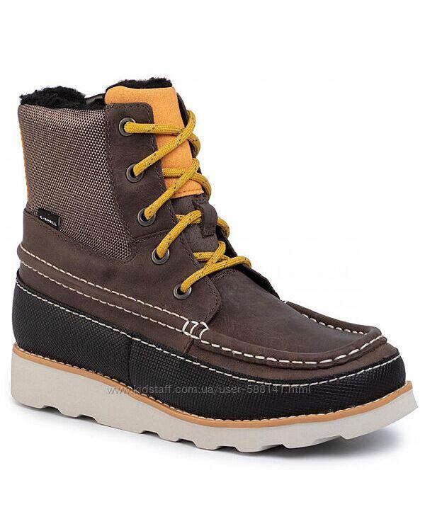 Clarks Crown Spirit K  зимние кожаные ботинки