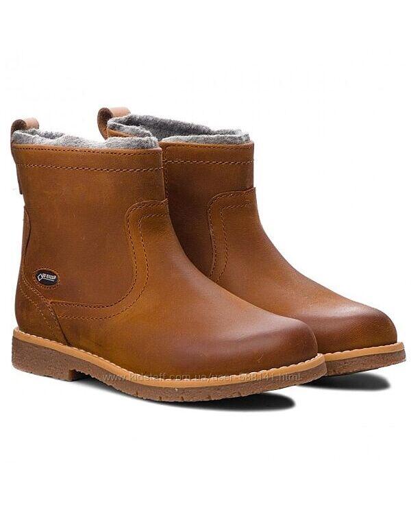 Clarks Comet Frost Gore-Tex  зимние кожаные ботинки